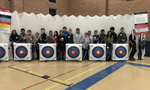 "Photo of the ""Teens Try Archery"" Event"