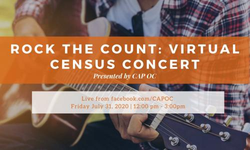 Preview image for the Rock the Count: Virtual Census Concert