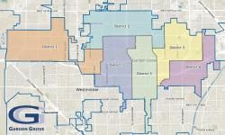 District election mapping image.