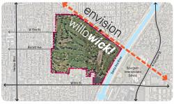 Image of Willowick site map.