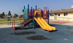 Photo of West Grove Park's playground.