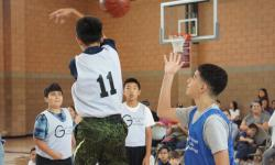 Youth Basketball League promotional photo.