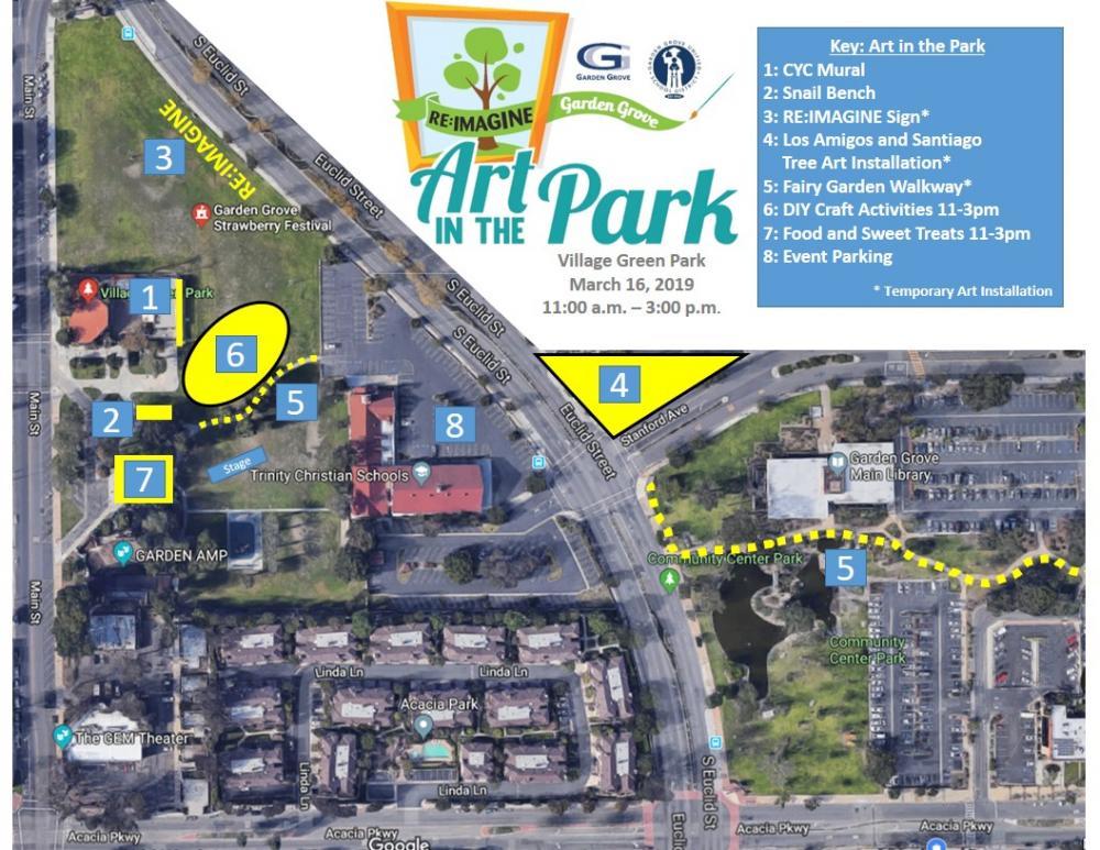 Re:Imagine Garden Grove – Art in the Park New Activities ...