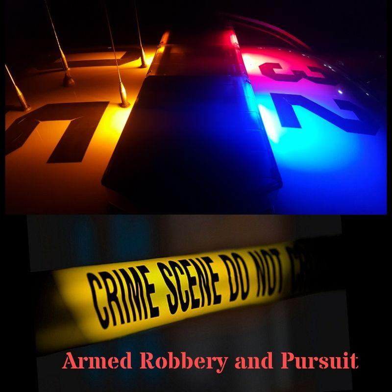 Armed Robbery At Walgreens Pharmacy Police Pursuit City Of