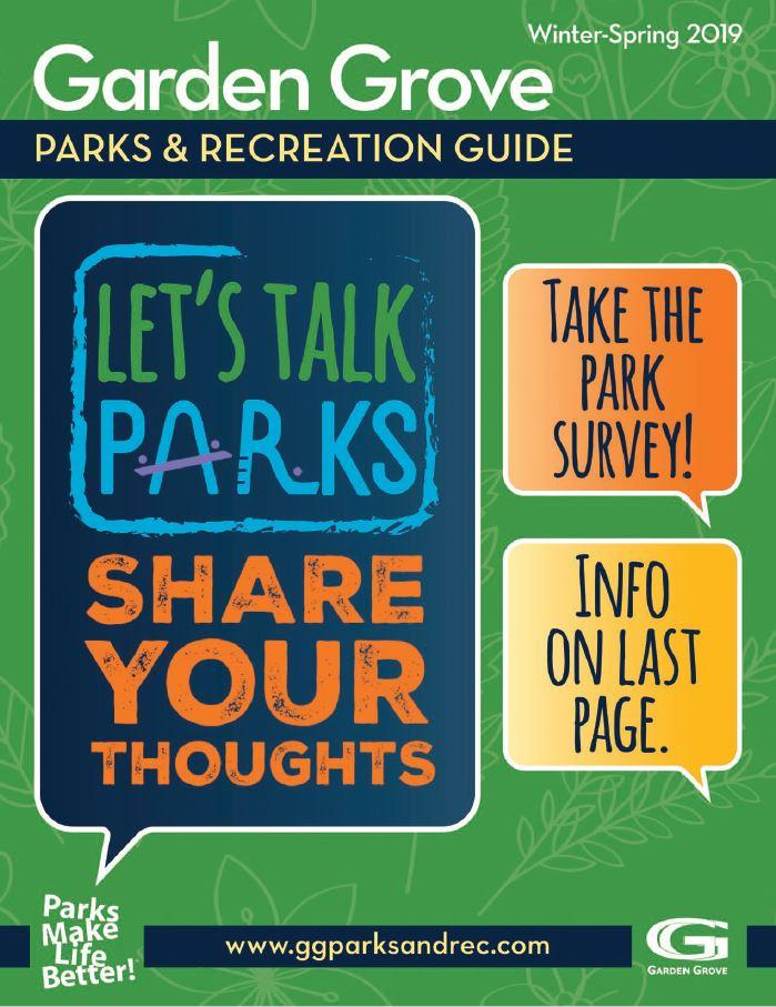 Parks and Rec Guide Spring 2019
