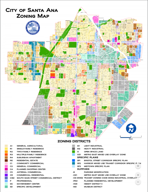 City Of Santa Ana Zoning Map Links | City of Garden Grove
