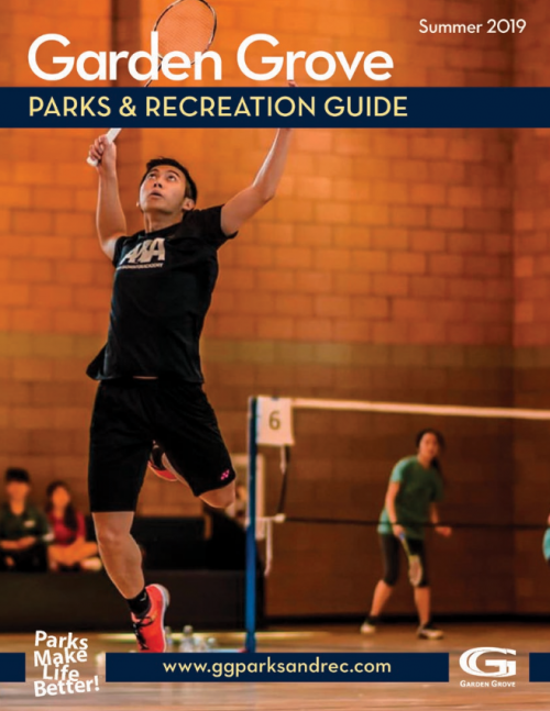 Parks and Rec Guide Summer 2019