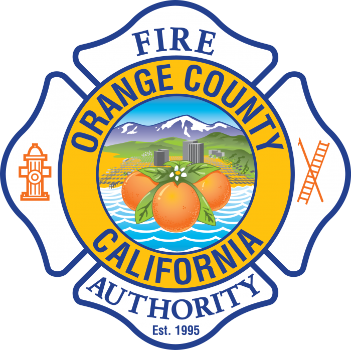Orange County Fire Authority logo.