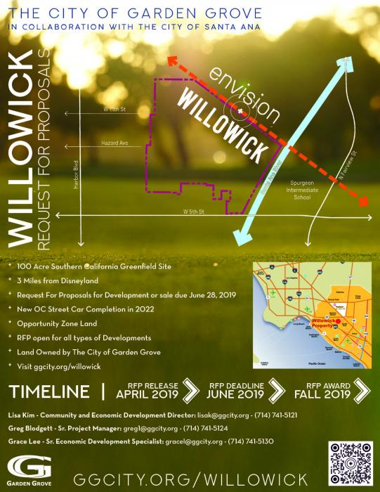Willowick RFP Flyer