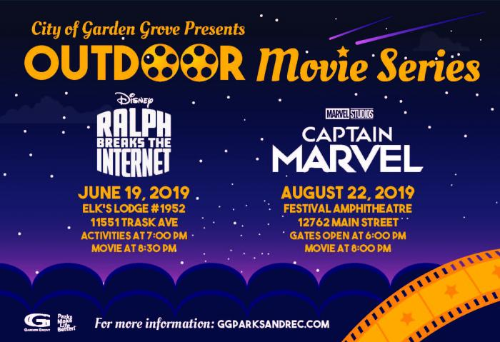 2019 Outdoor Movie Series