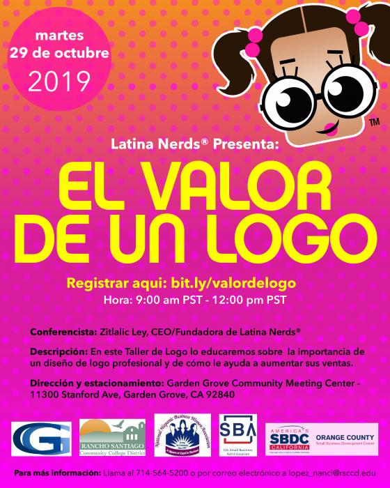Latina Nerds, The Value of a Logo