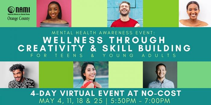 Mental Health Awareness Event: Wellness Through Creativity & Skill Building