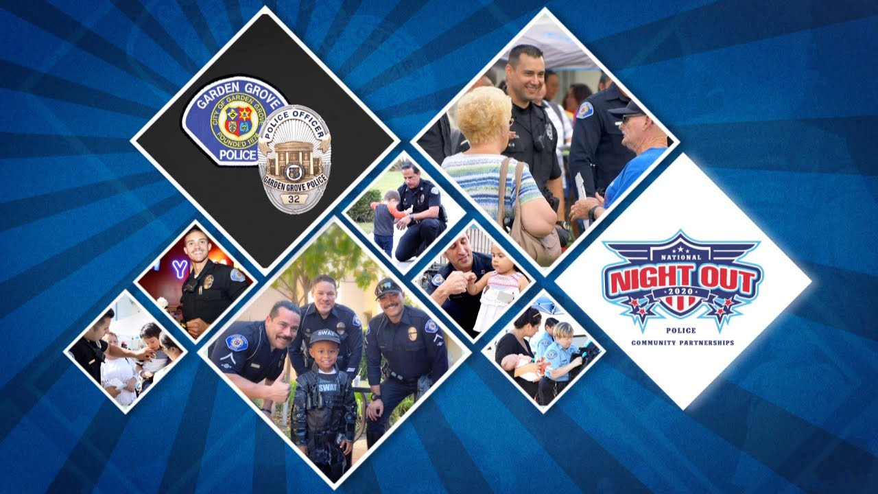 Garden Grove's National Night Out 2020