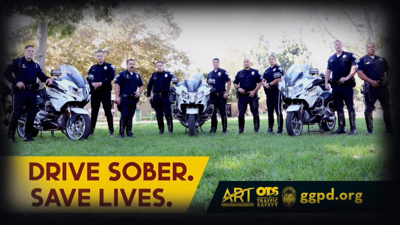 Garden Grove Asks You to Drive Sober and Save Lives