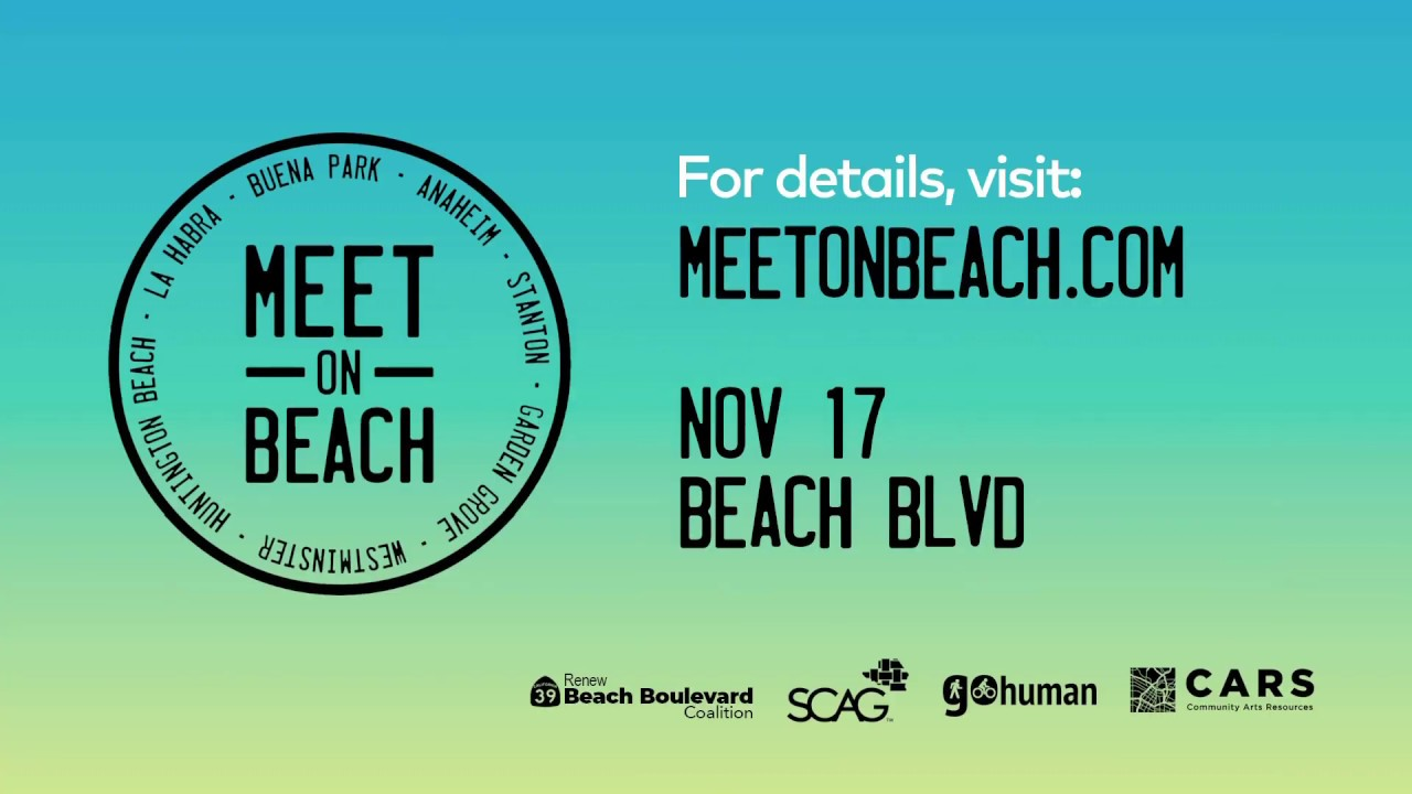 Meet on Beach November 17th!