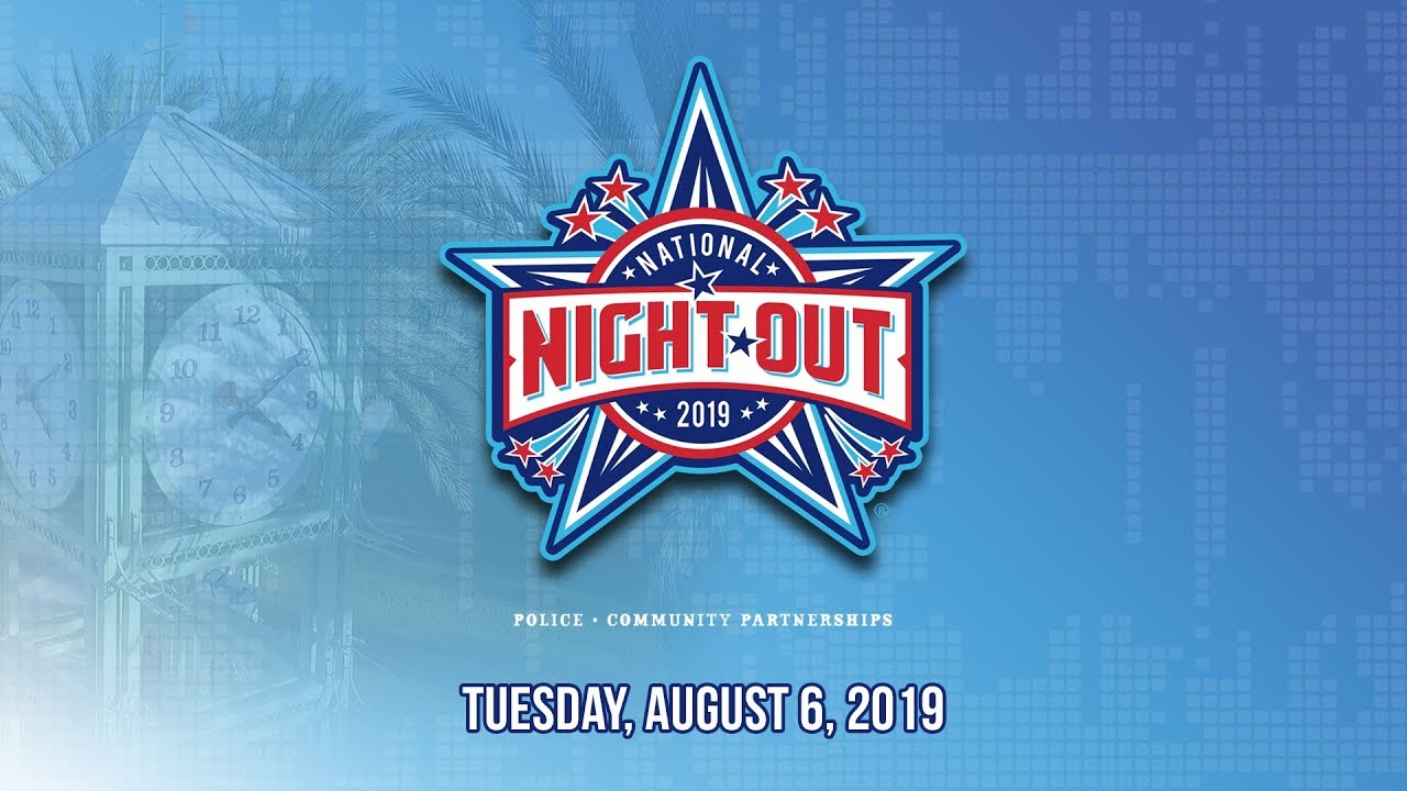 National Night Out in Garden Grove 2019