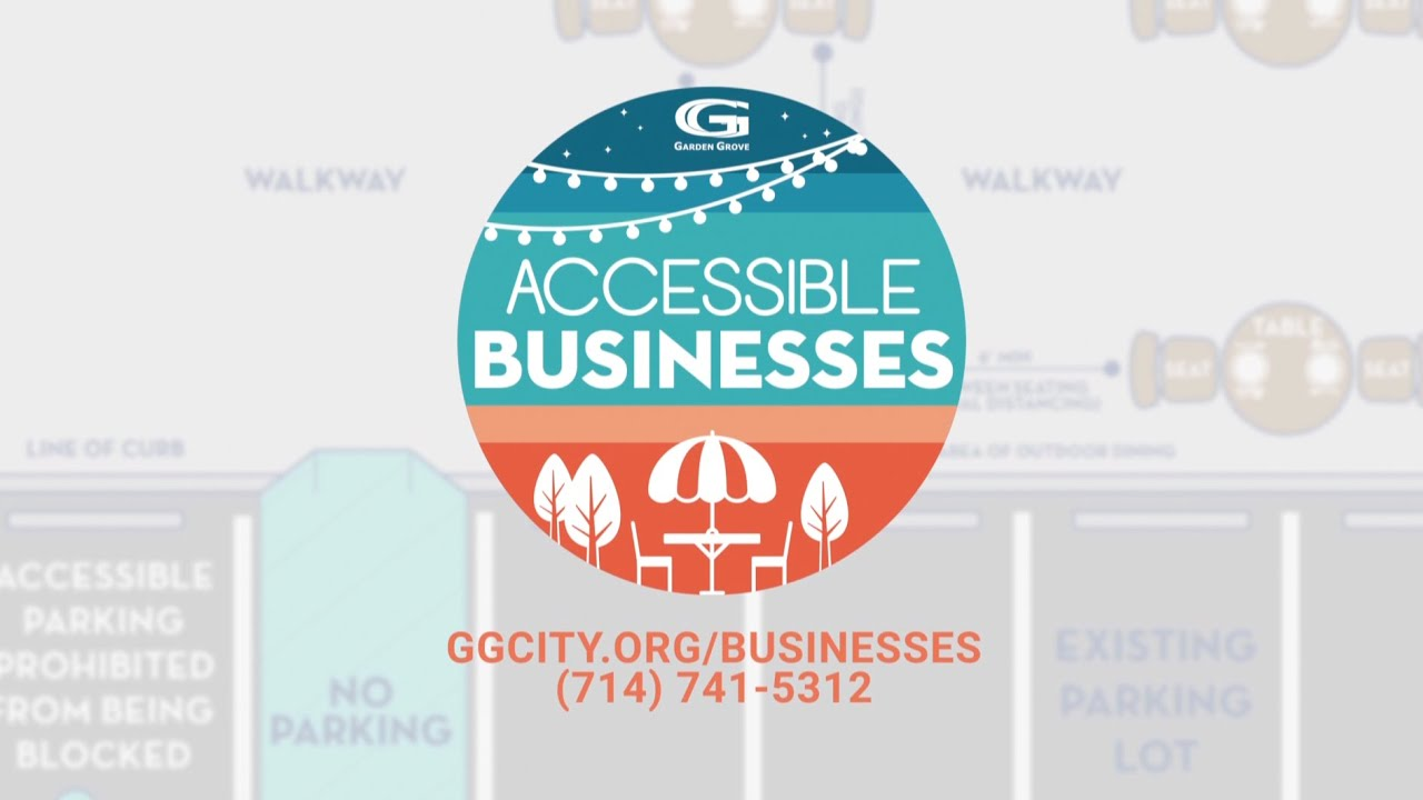 Garden Grove's Accessible Businesses Program