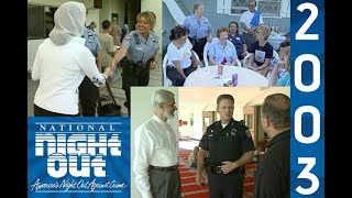 Garden Grove National Night Out in 2003