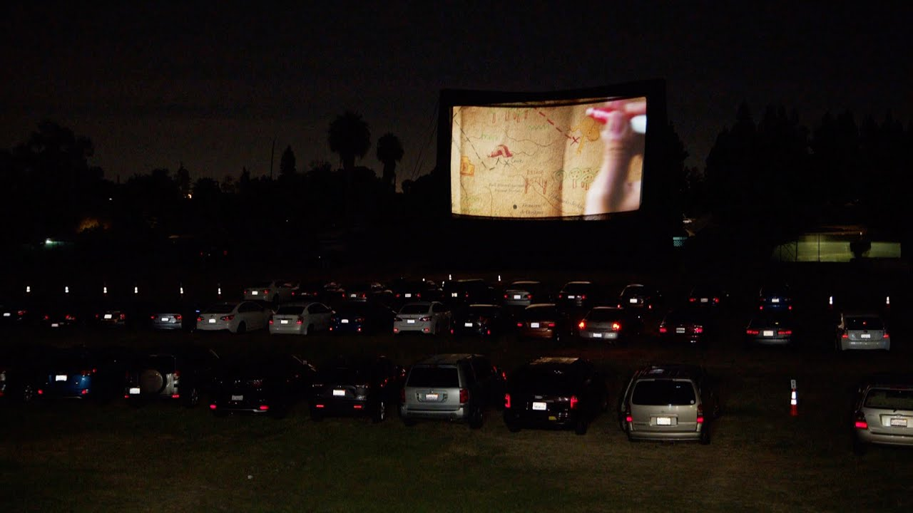 Garden Grove Brings Back Drive-In Movies!