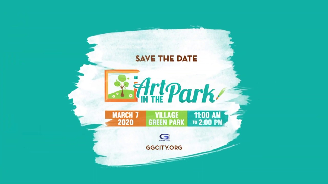 Get Ready for Art in the Park!